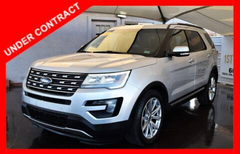 2016 Ford Explorer for sale at 1st Class Motors in Phoenix AZ