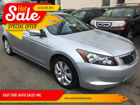 2008 Honda Accord for sale at EAST SIDE AUTO SALES INC in Paterson NJ