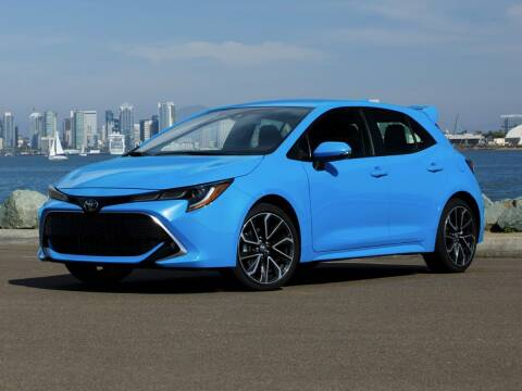 2019 Toyota Corolla Hatchback for sale at Sam Leman Toyota Bloomington in Bloomington IL