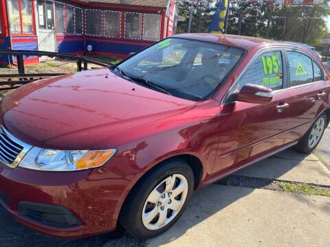 2009 Kia Optima for sale at Carfast Auto Sales in Dolton IL