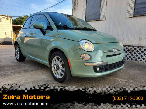 2013 FIAT 500c for sale at Zora Motors in Houston TX