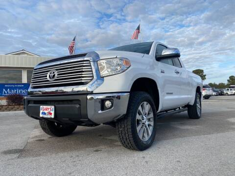 2017 Toyota Tundra for sale at Gary's Auto Sales in Sneads NC