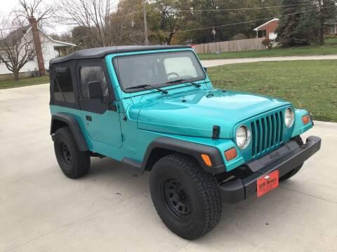 1997 Jeep Wrangler for sale at Bam Motors in Dallas Center IA
