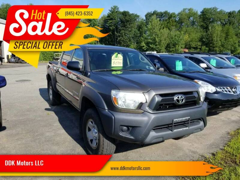 2012 Toyota Tacoma for sale at DDK Motors LLC in Rock Hill NY