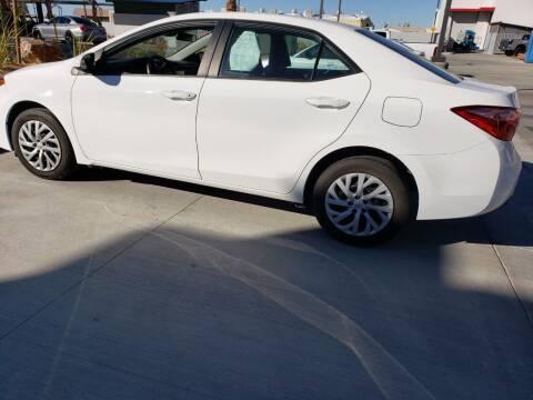 2019 Toyota Corolla for sale at ELITE MOTORS in Victorville CA