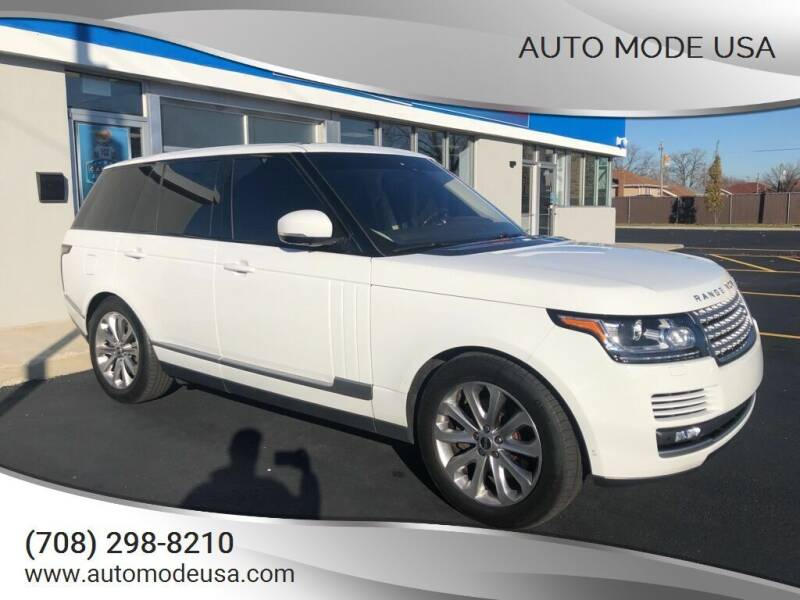2017 Land Rover Range Rover for sale at AUTO MODE USA in Burbank IL