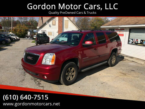 2013 GMC Yukon XL for sale at Gordon Motor Cars, LLC in Frazer PA