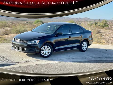 2013 Volkswagen Jetta for sale at Arizona Choice Automotive LLC in Mesa AZ