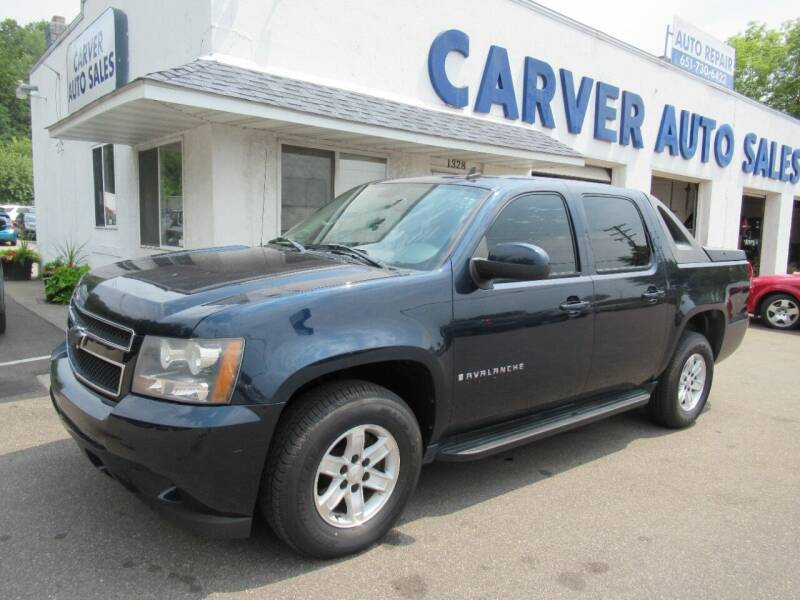 2007 Chevrolet Avalanche for sale at Carver Auto Sales in Saint Paul MN
