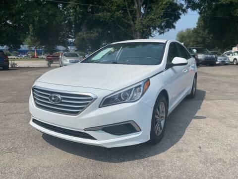 2017 Hyundai Sonata for sale at Atlantic Auto Sales in Garner NC