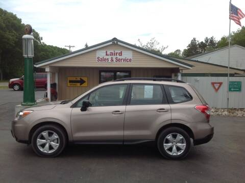 2015 Subaru Forester for sale at LAIRD SALES AND SERVICE in Muskegon MI