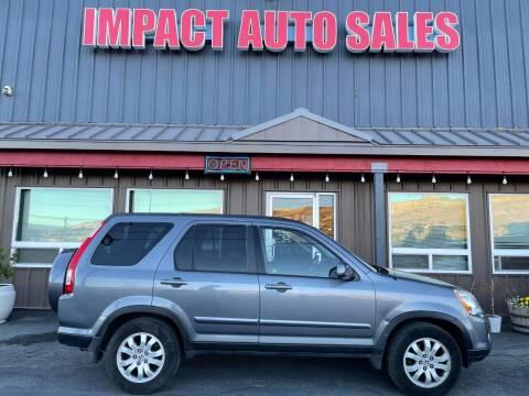 2005 Honda CR-V for sale at Impact Auto Sales in Wenatchee WA