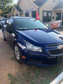 2013 Chevrolet Cruze for sale at S & J Auto Group in San Antonio TX