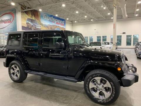 2016 Jeep Wrangler Unlimited for sale at Godspeed Motors in Charlotte NC