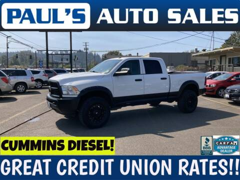 2013 RAM Ram Pickup 3500 for sale at Paul's Auto Sales in Eugene OR