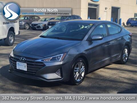 2019 Hyundai Elantra for sale at 1 North Preowned in Danvers MA
