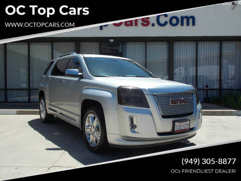 2015 GMC Terrain for sale at OC Top Cars in Irvine CA