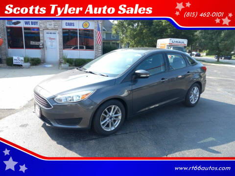 2016 Ford Focus for sale at Scotts Tyler Auto Sales in Wilmington IL