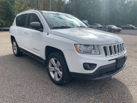 2012 Jeep Compass for sale at George Strus Motors Inc. in Newfoundland NJ