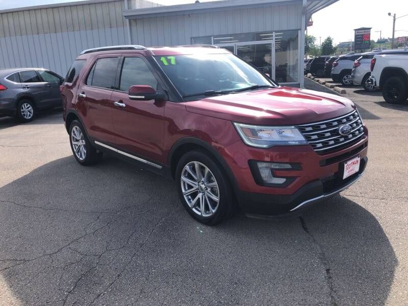 2017 Ford Explorer for sale at ROTMAN MOTOR CO in Maquoketa IA