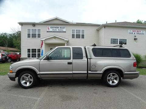 2002 Chevrolet S-10 for sale at SOUTHERN SELECT AUTO SALES in Medina OH
