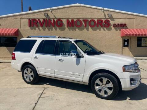 2015 Ford Expedition for sale at Irving Motors Corp in San Antonio TX