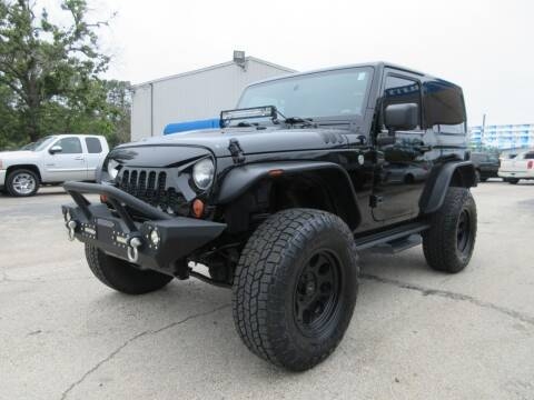 2013 Jeep Wrangler for sale at Quality Investments in Tyler TX
