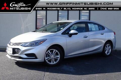 2018 Chevrolet Cruze for sale at Griffin Mitsubishi in Monroe NC