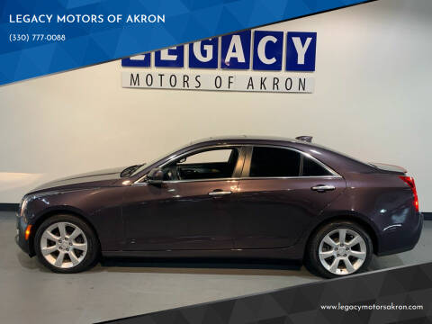2015 Cadillac ATS for sale at LEGACY MOTORS OF AKRON in Akron OH
