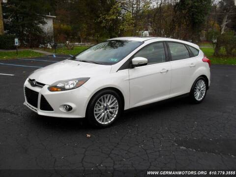 2014 Ford Focus for sale at Mair's Continental Motors in Reading PA