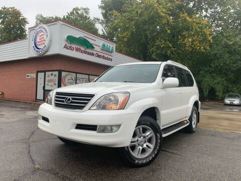 2004 Lexus GX 470 for sale at GMA Automotive Wholesale in Toledo OH