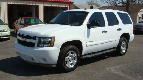 2008 Chevrolet Tahoe for sale at Red Rock Auto LLC in Oklahoma City OK