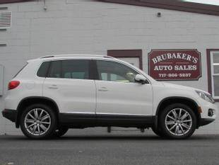 2013 Volkswagen Tiguan for sale at Brubakers Auto Sales in Myerstown PA