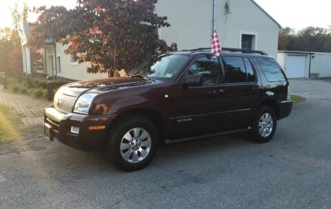 2008 Mercury Mountaineer for sale at Wallet Wise Wheels in Montgomery NY