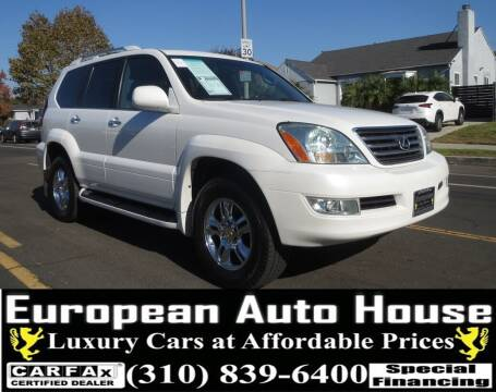 2008 Lexus GX 470 for sale at European Auto House in Los Angeles CA