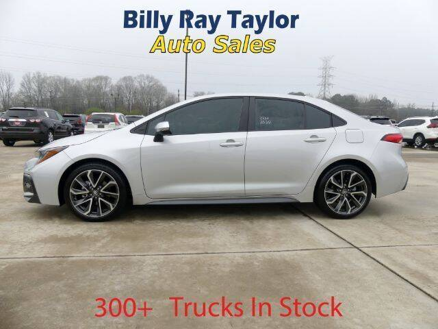2020 Toyota Corolla for sale at Billy Ray Taylor Auto Sales in Cullman AL