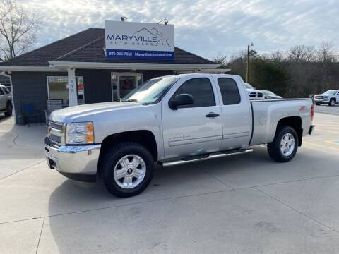 2012 Chevrolet Silverado 1500 for sale at Maryville Auto Sales in Maryville TN