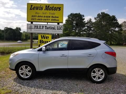 2011 Hyundai Tucson for sale at Lewis Motors LLC in Deridder LA