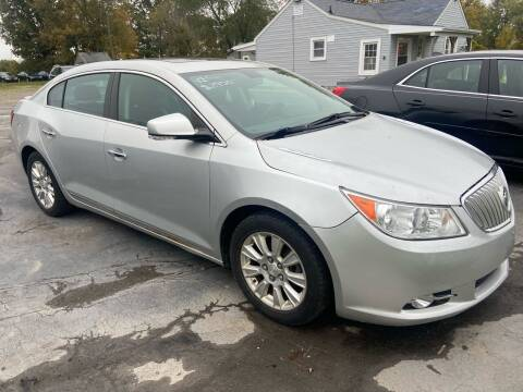2012 Buick LaCrosse for sale at HEDGES USED CARS in Carleton MI