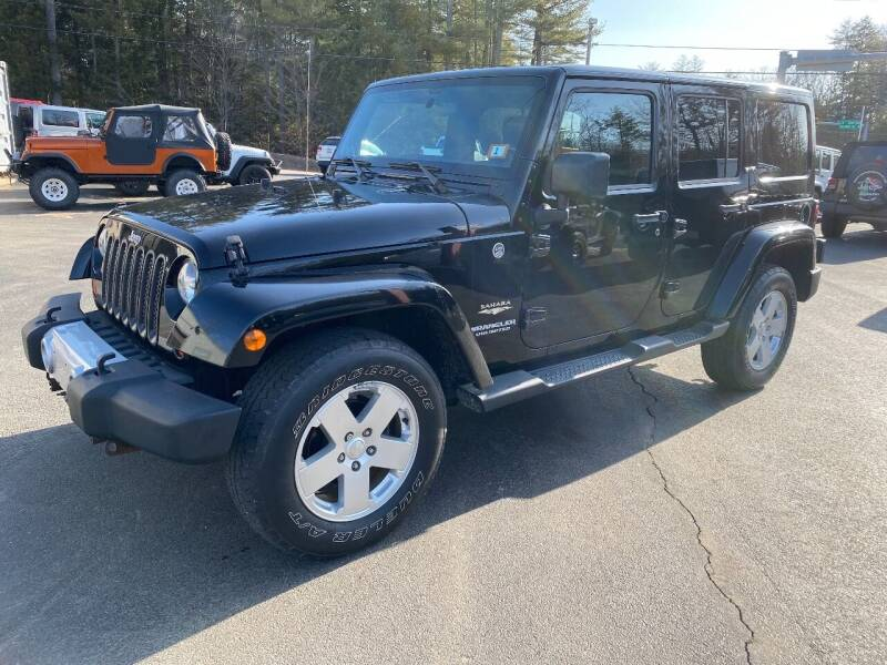 2012 Jeep Wrangler Unlimited for sale at Route 4 Motors INC in Epsom NH