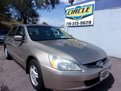 2004 Honda Accord for sale at Circle Auto Center in Colorado Springs CO