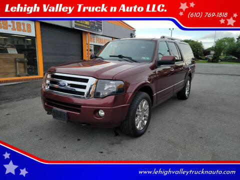 2012 Ford Expedition EL for sale at Lehigh Valley Truck n Auto LLC. in Schnecksville PA