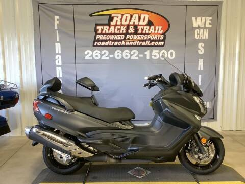 2016 Suzuki Burgman 650 ABS Executive for sale at Road Track and Trail in Big Bend WI