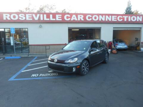 2013 Volkswagen GTI for sale at ROSEVILLE CAR CONNECTION in Roseville CA