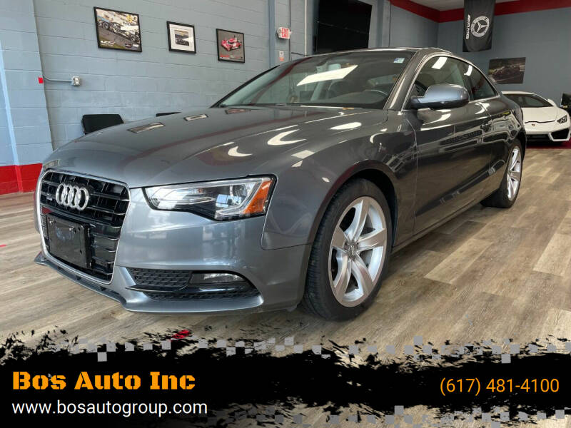 2015 Audi A5 for sale at Bos Auto Inc in Quincy MA