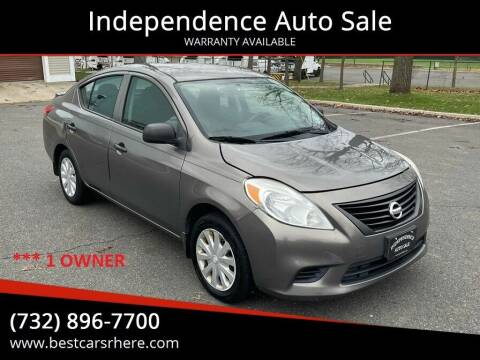 2014 Nissan Versa for sale at Independence Auto Sale in Bordentown NJ