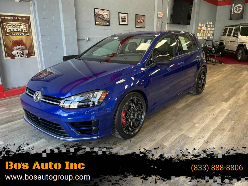 2017 Volkswagen Golf R for sale at Bos Auto Inc in Quincy MA