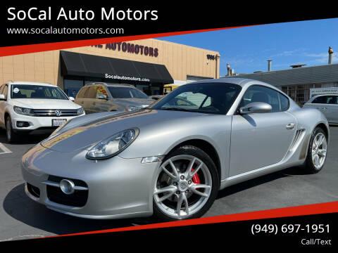 2006 Porsche Cayman for sale at SoCal Auto Motors in Costa Mesa CA