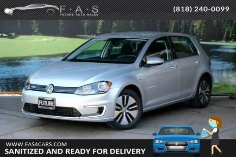 2016 Volkswagen e-Golf for sale at Best Car Buy in Glendale CA