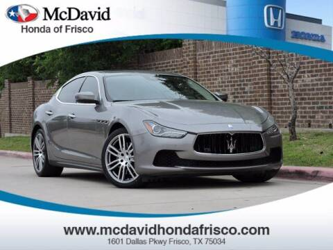 2017 Maserati Ghibli for sale at DAVID McDAVID HONDA OF IRVING in Irving TX